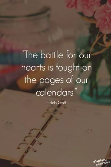 battle for our hearts on our calendars