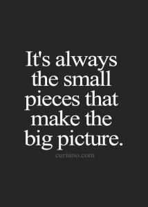 small pieces big picture